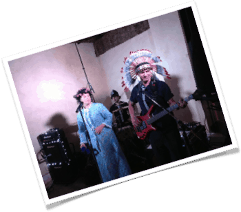 Party Band dressing up